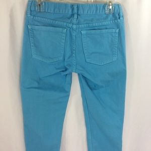 J. Crew Jeans - J Crew Cropped Matchstick Jeans Sky Blue Size 27